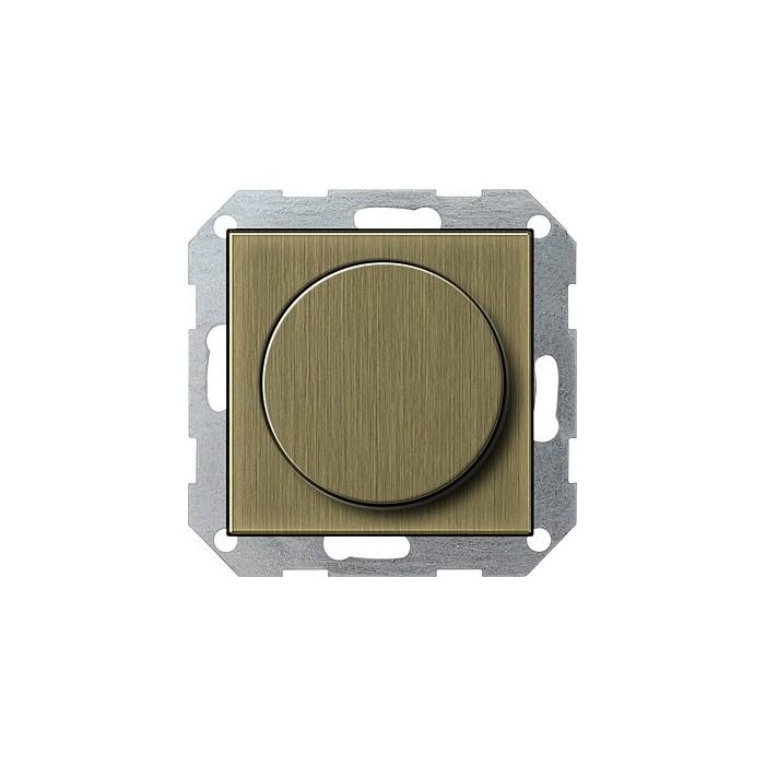 Potencjometr elektroniczny (wł. przycisk.) f. impulsowa brąz System 55 GIRA
