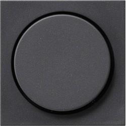 Potencjometr elektroniczny (wł. przycisk.) f. przełączająca antracytowy System 55 GIRA