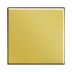 Włącznik pojedynczy dzwonkowy złoty, JUNG LS Złoto 24 karaty