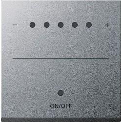Ściemniacz uniwersalny LED ze wskaźnikiem, alu System 55 GIRA
