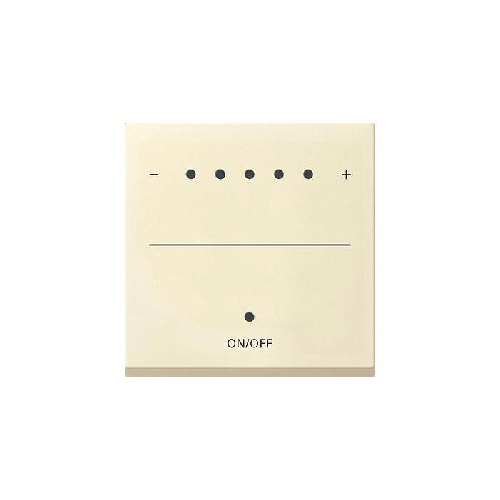 Ściemniacz uniwersalny LED LED 50-420W/VA (wł. przycisk.) s.2000 kremowy System 55 GIRA