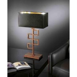 Lampa biurkowa, drewno, EFFUSIONIDILUCE Drill