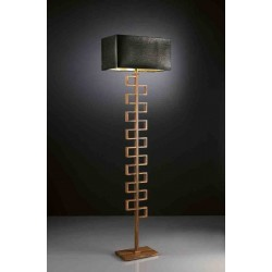Lampa podłogowa, drewno, EFFUSIONIDILUCE Drill