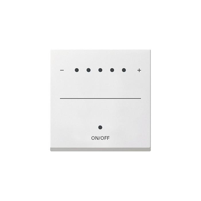 Sterownik 1-10V LED (wł. przycisk.) s.2000 biały System 55 GIRA
