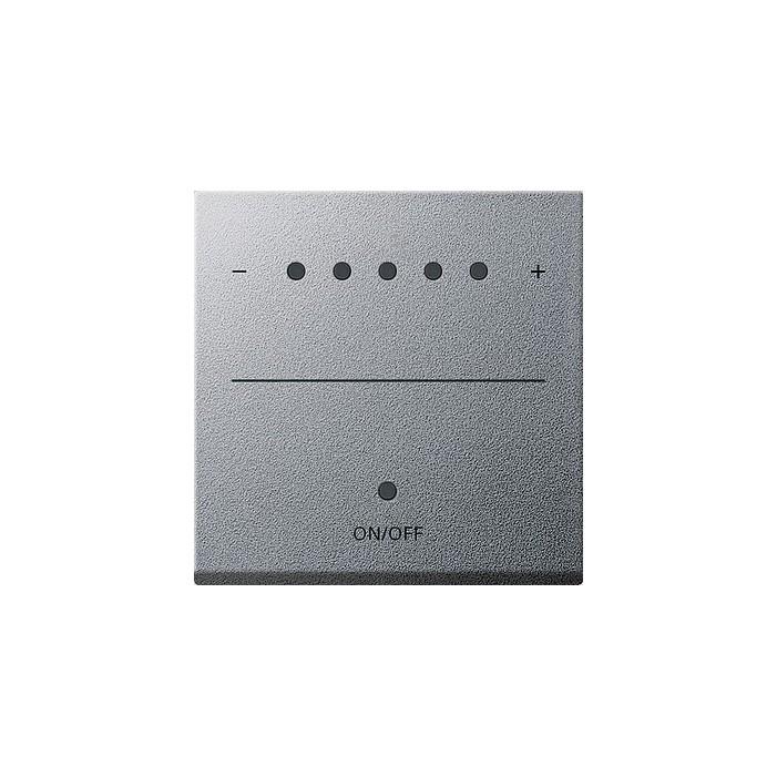 Sterownik 1-10V LED (wł. przycisk.) s.2000 alu System 55 GIRA