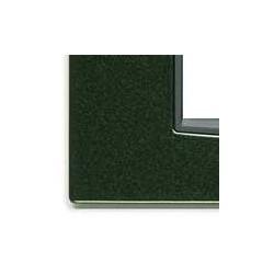 Ramka ozdobna, Classic, metal lakierowany, 2M, ciemny zielony, Vimar EIKON