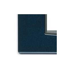 Ramka ozdobna, Classic, metal lakierowany, 2M, ciemny niebieski, Vimar EIKON
