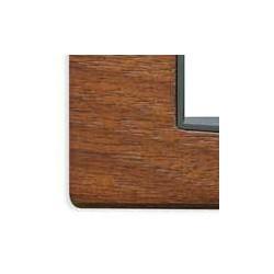 Ramka ozdobna, Classic, drewno, 2M, włoski orzech, Vimar EIKON