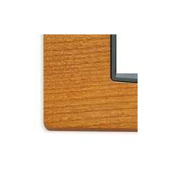 Ramka ozdobna, Classic, drewno, 2M, amerykańska wiśnia, Vimar EIKON
