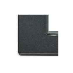 Ramka ozdobna, Classic, metal lakierowany, 2M-centr, matowy antracyt, Vimar EIKON
