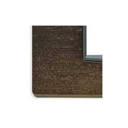 Ramka ozdobna, Classic, drewno, 2M-centr, ciemny dąb, Vimar EIKON