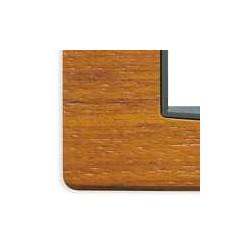 Ramka ozdobna, Classic, drewno, 2M-centr, drzewo tekowe, Vimar EIKON