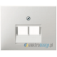 Gniazdo UAE telefoniczne 8 pin. śnieżnobiały. K.1 Berker