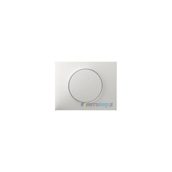 Uniwersalny ściemniacz obrotowy z płynną regulacją 50-420W/VA. śnieżnobiały. K.1 Berker