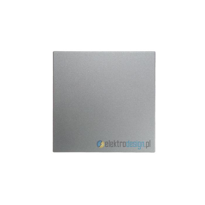 Przycisk pojedynczy dzwonkowy (zwierny). alu. B.1/B.7 Glas Berker