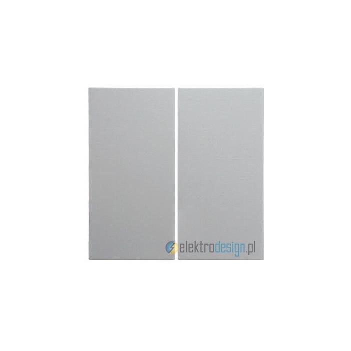 Łącznik podwójny (seryjny). śnieżnobiały. S.1/B.1/B.3/B.7 Glas Berker
