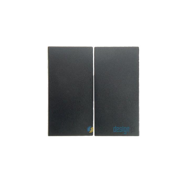 Łącznik podwójny schodowy. antracyt. B.1/B.3/B.7 Glas Berker
