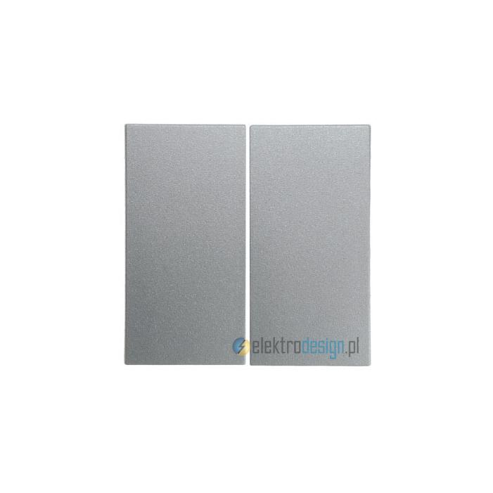 Łącznik podwójny schodowy. alu. B.1/B.7 Glas Berker