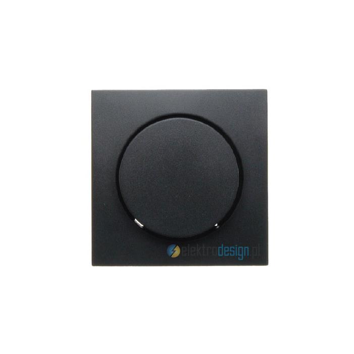 Ściemniacz obrotowy 60-600W. antracyt. B.1/B.3/B.7 Glas Berker