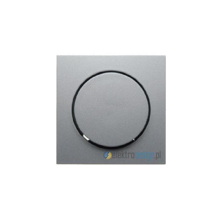Ściemniacz obrotowy 100-1000W. alu. B.1/B.7 Glas Berker