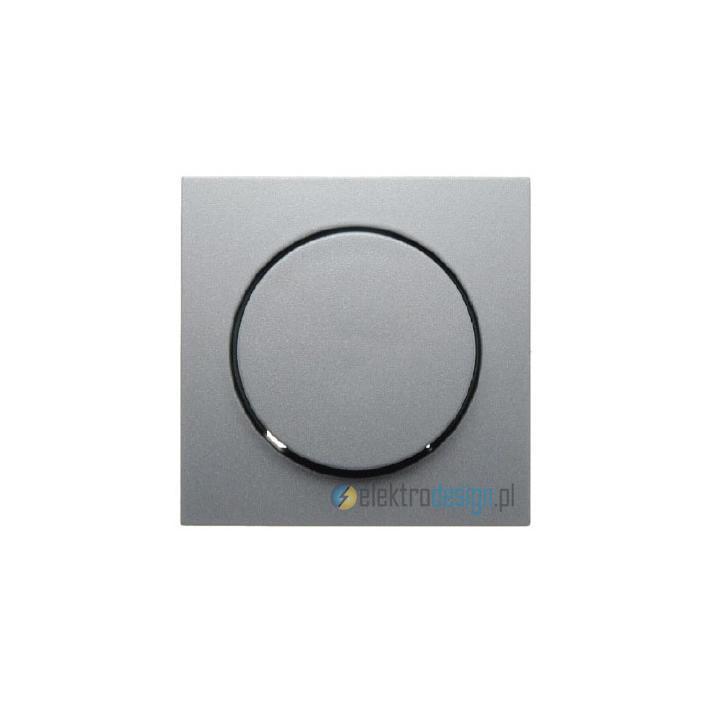 Ściemniacz obrotowy NN 20-500W/VA. alu. B.1/B.7 Glas Berker