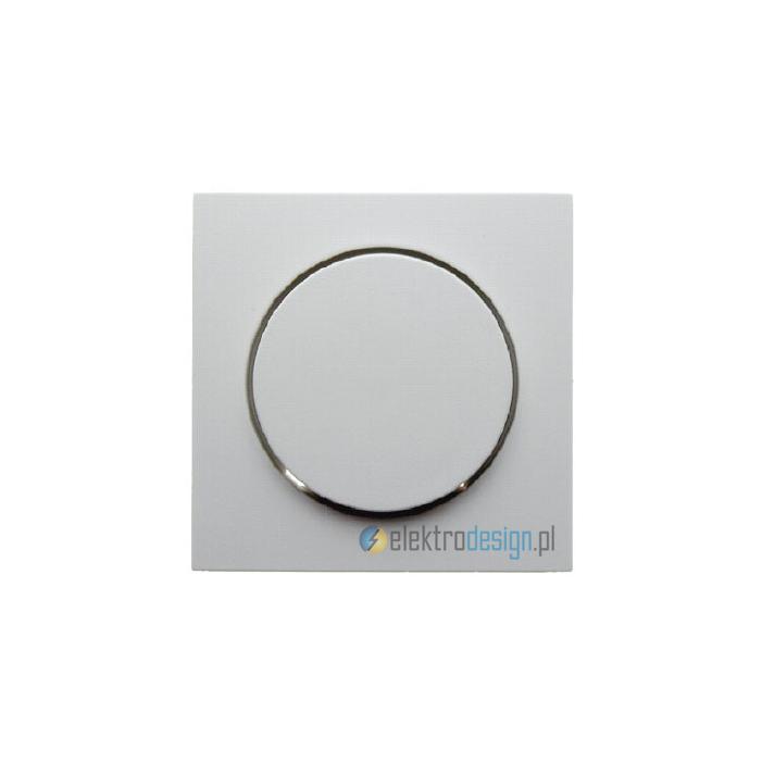 Elektroniczny potencjometr obrotowy 1-10V. śnieżnobiały. S.1/B.1/B.3/B.7 Glas Berker