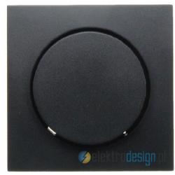 Elektroniczny potencjometr obrotowy 1-10V. antracyt. B.1/B.3/B.7 Glas Berker
