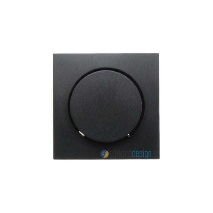 Ściemniacz obrotowy Tronic z płynną regulacją 20-525W. antracyt. B.Kwadrat Berker