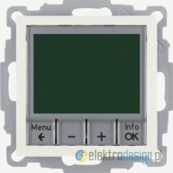 Regulator temperatury ze sterowaniem czasowym kremowy Berker B.Kwadrat