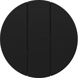 Łącznik potrójny czarny połysk Berker R.1/R3