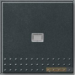 Łącznik przyciskowy kontr, przełączalny antracyt Gira TX_44