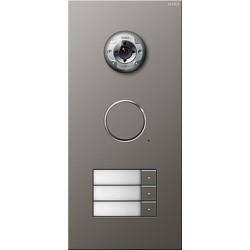 Bramofon stalowy Wideo potrójne System Domofon naturalny stalowy naturalny stalowy Gira Wideodomofony