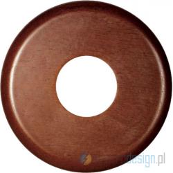 Drewniana podstawa okrągła, orzech, GiGambarelli