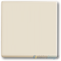 ABB Axcent Włącznik pojedynczy krzyżowy biały chalet