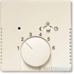 ABB Axcent Regulator temperatury z lampką i przeWłącznikiem biały chalet