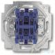ABB Carat,Solo,Axcent,Future Włącznik żaluzjowy z blokadą biały studyjny