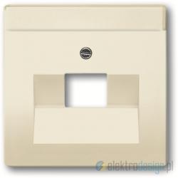 ABB Axcent Gniazdko komputerowe pojedyncze RJ45 kat.5e biały chalet