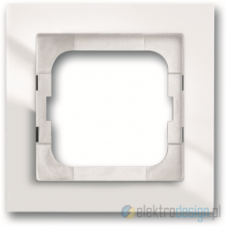ABB Axcent Ramka 1-krotna biały studyjny