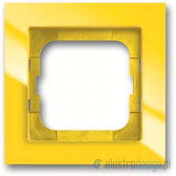 ABB Axcent Ramka 1-krotna żółty