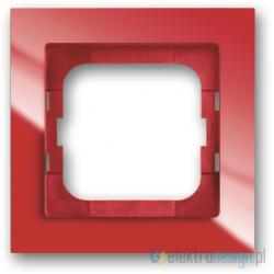 ABB Axcent Ramka 1-krotna czerwony