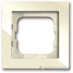 ABB Axcent Ramka 1-krotna biały-chalet
