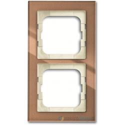 ABB Axcent Ramka 2-krotna brązowy