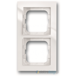 ABB Axcent Ramka 2-krotna biały studyjny