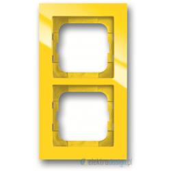 ABB Axcent Ramka 2-krotna żółty