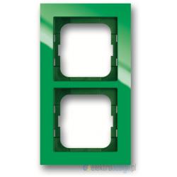 ABB Axcent Ramka 2-krotna zielony