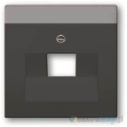 ABB Carat,Future Gniazdko komputerowe pojedyncze RJ45 kat.5e antracyt