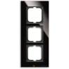 ABB Carat Ramka 3-krotna czarny