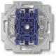 ABB Future Włącznik pojedynczy 1-biegunowy aluminiowo srebrny