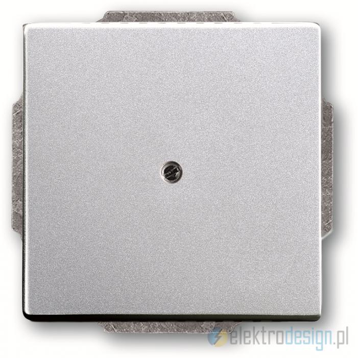 ABB Future Zaślepka aluminiowo srebrny
