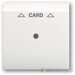 ABB Impuls Włącznik hotelowy na kartę biały alpejski
